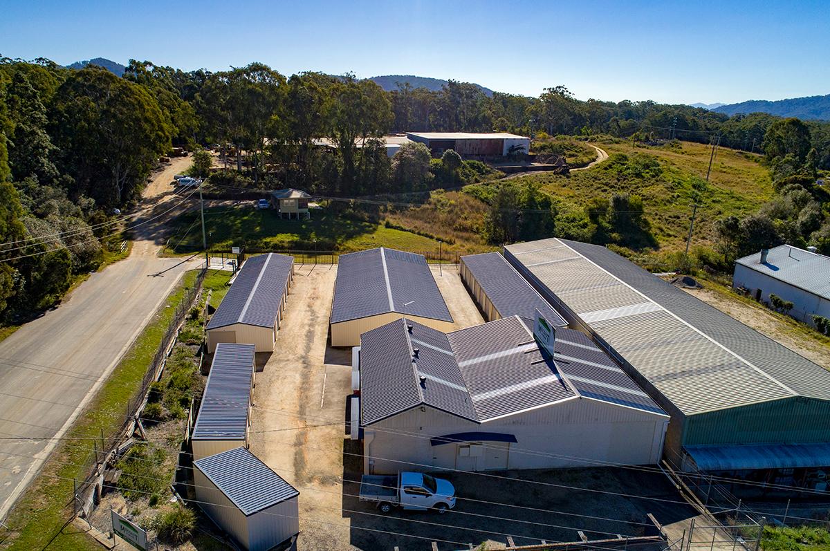 Storage Facility Birds eye view